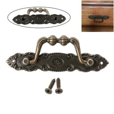 Antique Cabinet Drawer Handle Bronze Door Handle Chest Dresser Vintage Pull Knob