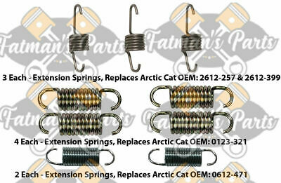 Arctic Cat F5 M8 F570 Lynx 2000 Snowmobile Exhaust Spring Replacement Kit