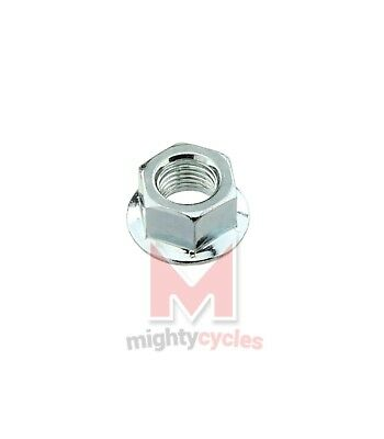 Bicycle Rear Hub Axle 3//8x175mm Chrome Cycling Bike Lowrider Chopper Cruiser