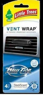 New LITTLE TREE VENT WRAP NEW CAR - 4 Pack