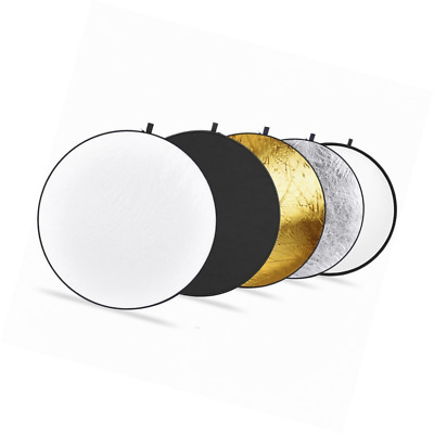 """Upland Photography Collapsible Multi-Disc Light Reflectors, 43""""(110cm) 5-in-1"""