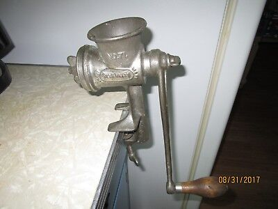 Belknap Antique Meat Grinder #71 Vintage Very Good Condition