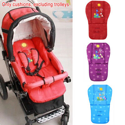 Baby Soft Thickened Pushchair Mat Stroller Pram Seat Cushion Pad