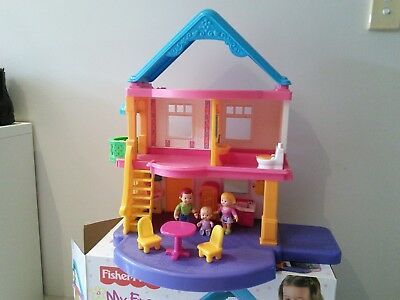 Fisher Price My First Dollhouse, good condition.