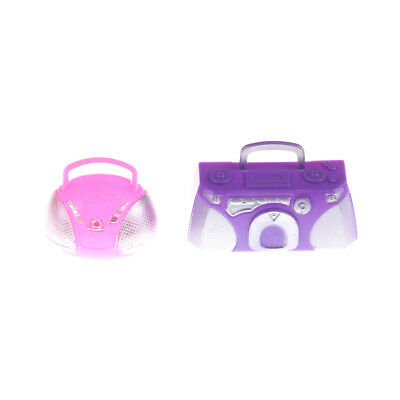 Food Simulation Play House Recorder Model Toy For Barbie Doll Toy Accessories O