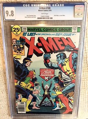 X-Men # 100 CGC 9.8 1st New vs Old Stan Lee, key 101 Phoenix, Claremont