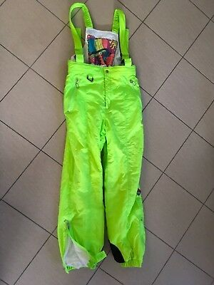 Men's Womens Ladies Unisex Skiing Snowboard Overall Pants Size M Salopettes VGC!