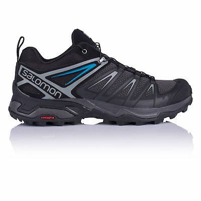 Salomon Mens X Ultra 3 Walking Shoe Black Sports Breathable Lightweight Trainers