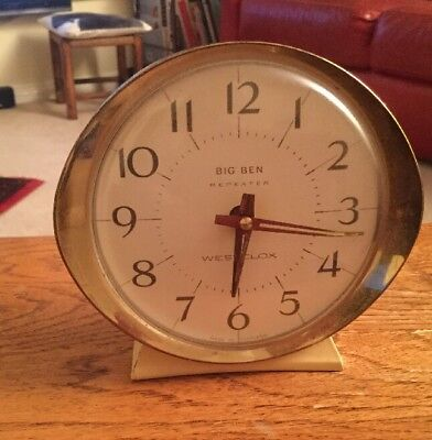 Vintage > Westclox * Big Ben * Repeater * Mechanical* Alarm Clock *  Working