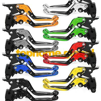 For Kawasaki Ninja 300 400 2013-2018 Folding Extending Clutch Brake Levers CNC
