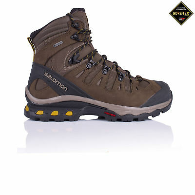 Salomon Mens Quest 4D 3 Gore-Tex Walking Boots Brown Sports Outdoors Waterproof