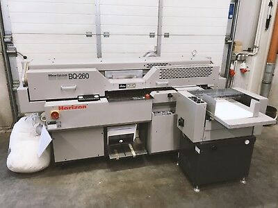 HORIZON BQ 260 Klebebinder | guter Zustand  |  cleaned and checked