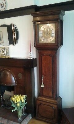 Long Case /Grandfather clock 8 day Georgian circa 1760