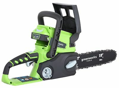Greenworks Tools 24volt 25cm/10in Cordless Chainsaw