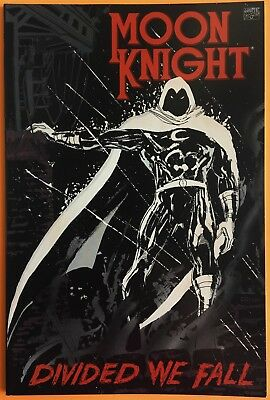 Moon Knight Divided We Fall One-Shot Deluxe 1St Print Marvel Comics