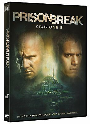 Prison Break - Stagione 5 (Dvd) Nuovo, Italiano, Originale