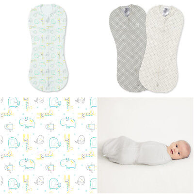 Summer Infant Swaddle Pod for Young or Premature Baby Cotton Blend 0-2m 5-11lbs