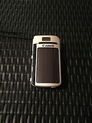 Canon Sure Shot Del Sol Solar Camera Rare 35mm Works Vintage Retro
