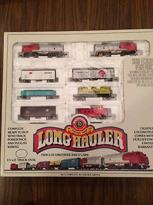 Bachmann N Scale Santa Fe Freight Set (Trains Only)