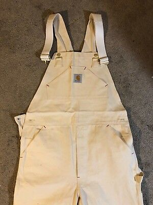 Carhartt Overalls BRAND NEW WITH TAGS workwear 36x34 Painter Painting