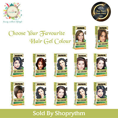 Organic Indus Valley Ammonia Free Natural Hair Color Gel| Choose From Wide Rang