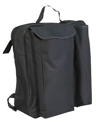 Wheelchair Bag - Rear wheelchair bag to hold shopping, walking stick, essentials