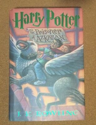 HARRY POTTER and the PRISONER of AZKABAN J. K. ROWLING 1st Edition EUC HARDBACK