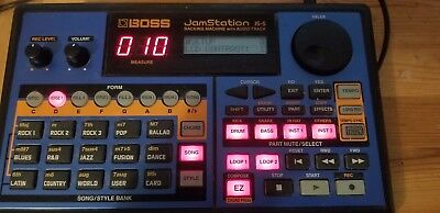 boss jamstation js-5 audio sequenzer Backing Machine mit Speicherkarte 32mb und