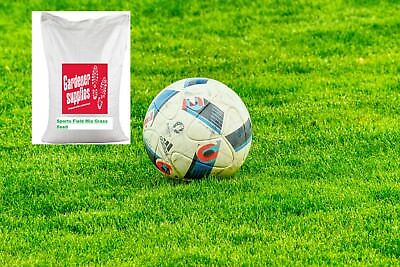 20kg Grass Seed Sports Field Football Pitch & Rugby Pitch Certified