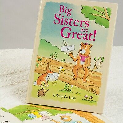 Personalised Childrens Book Big Sisters Brothers Are Great Story Gift Paperback
