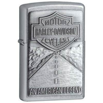 Zippo Accendino Harley Davidson*american Legend Hd 20229*lighter*official*usa