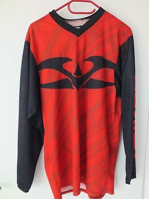 Valken Fate Paintball Jersey - black/red, Größe M