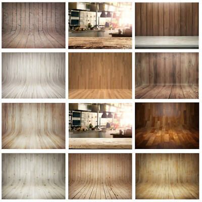 3D Wood Board Solid Plank Photography Background Studio Photo Props Backdrop