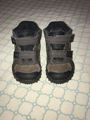 Stride Rite Toddle Boys Rugged Ritchie 2 Size 7M Brown & Black