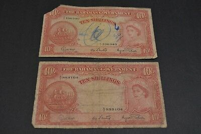 Bahamas, Government of the Bahamas - 10 Shillings, 1936
