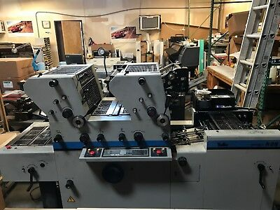TOKO R2S Twin Tower Offset Press