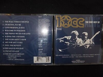 Cd The Very Best Of 10 Cc /