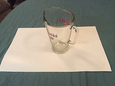 Coors Banquet Pitcher- From the 1980s- Highly Collectible- Used- Vintage