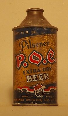 Indoor P.O.C. Cone Top Beer Can - Cleveland, OH