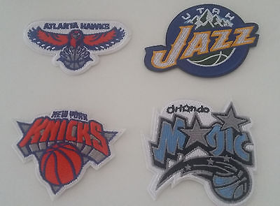 1 x NBA Patch Aufnäher New York Knicks, Atlanta Hawks, Orlando Magic, Utah Jazz