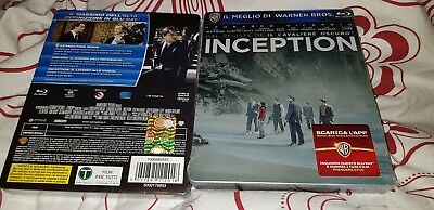 Inception Blu-Ray Exclusive Édition Limitée Rare Sold-Out Steelbook