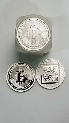 Proof Bitcoin 1 oz Silver Round .999 Fine at DEALER PRICING!!! (20-coin roll)