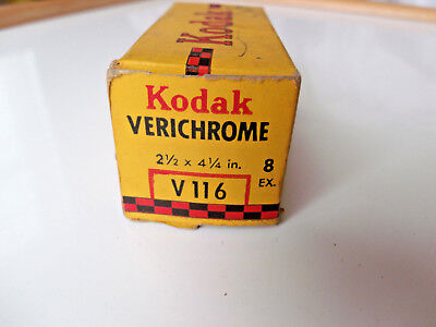 Vintage KODAK VERICHROME V116 Film Expired May 1945