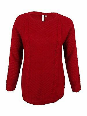 NY Collection Women's Plus Ribbed Hi-Low Pullover Sweater - Select size/color