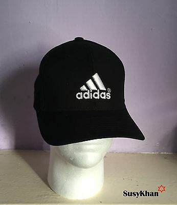 fe3d4e31820 Black Unisex Adidas Sports Baseball Cap Running Hat 3 Stripes (40%off) Free  1 of 2FREE Shipping ...