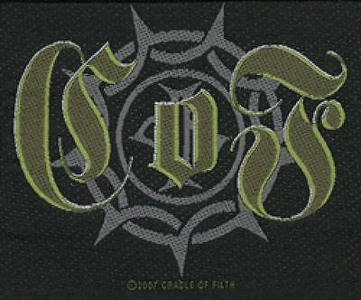 "CRADLE OF FILTH "" Gothic "" Patch / PATCHES 601324 #"