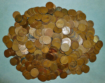 751 mixed Wheat Pennies - MUCH HIGHER PERCENTAGE OF TEENS AND TWENTIES