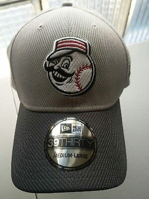 029ddacc Cincinnati Reds New Era MLB 39THIRTY Cooperstown Team Grayed Flex Fit Hat