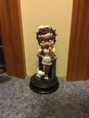 Betty Boop Nurse Rare Figurine Njcroce Collectible