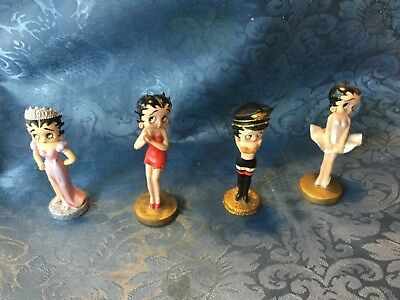 Betty Boop package of 4 figures by Westland